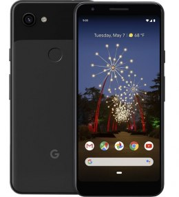"Google Pixel 3a Black, 5.6 "", OLED, 1080 x 2220 pixels, Internal RAM 4 GB, 64 GB, microSD, Single SIM, Nano-SIM, 3G, 4G, Main ca"