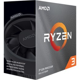 AMD Ryzen 3 3300X, 3.8 GHz, AM4, Processor threads 8, Packing Retail, Processor cores 4, Component for PC