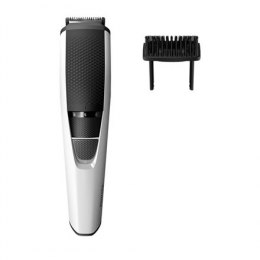Philips Beard Trimmer BT3206/14 Cordless, Step precise 0.5 mm, 10 lock-in length settings, Black/Silver