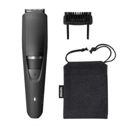 Philips Beard Trimmer BT3226/14 Cordless or corded, Step precise 0.5 mm, 20 lock-in length settings, Black