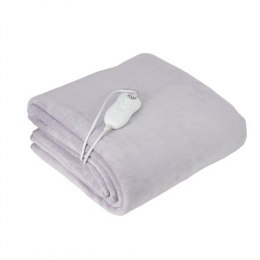 Adler Electric blanket AD 7425 Number of heating levels 4, Number of persons 1, Washable, Remote control, Coral fleece, 60 W, Gr