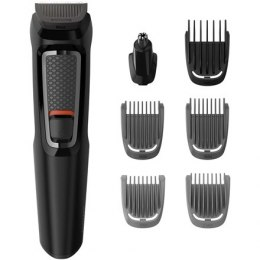 Philips 9-in-1, Face and Hair Trimmer MG3740/15 Cordless, Black, Operating time 60 min