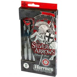 Darts steeltip HARROWS Silver Arrows 5208 3x24gK