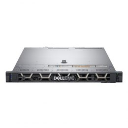 Dell PowerEdge R440 Rack (1U), Intel Xeon, 1x Silver 4214, 2.2 GHz, 16.5 MB, 24T, 12C, RDIMM, 3200 MHz, No RAM, No HDD, Up to 4