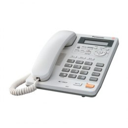 Panasonic Corded KX-TS620FXW White, Caller ID, Built-in display, Speakerphone, 680 g, 167 x 224 x 95 mm, Phonebook capacity 50 e