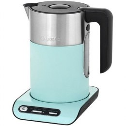 Bosch Kettle TWK8612P Electric, 2400 W, 1.5 L, Plastic/Stainless steel, Green, 360° rotational base