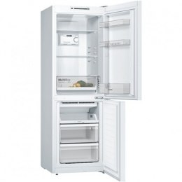 Bosch Refrigerator KGN33NWEB A++, Free standing, Combi, Height 176 cm, No Frost system, Fridge net capacity 192 L, Freezer net c