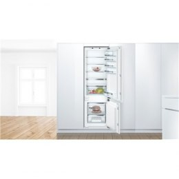 Bosch Refrigerator KIS87AFE0 A++, Built-in, Combi, Height 177 cm, No Frost system, Fridge net capacity 209 L, Freezer net capaci
