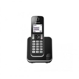 Panasonic Cordless phone KX-TGD310FXB Black, Caller ID, Wireless connection, 1.8 inch LCD; 120 Channels; Eco function; Power Bac