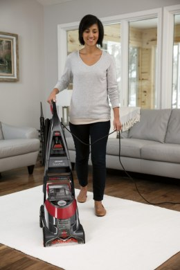 Bissell Carpet Cleaner StainPro 6 Corded operating, Handstick, Dry cleaning, 800 W, Red/Titanium