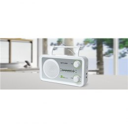 Muse M-06SW White, AUX in, FM radio