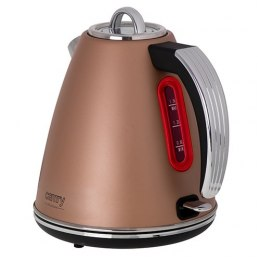 Camry Kettle CR 1292 Electric, 2200 W, 1.5 L, Stainless steel, 360° rotational base, Bronze
