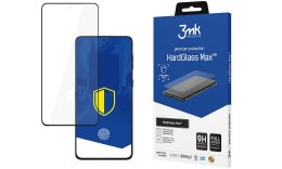 3MK HardGlass Max Samsung, Galaxy S21 Ultra, Tempered glass, Black, Clear Screen Protector