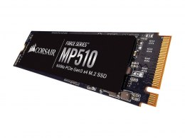 Corsair Force Series SSD MP510 480 GB, SSD form factor M.2 2280, SSD interface PCIe NVMe Gen 3.0 x 4, Write speed 2000 MB/s, Rea