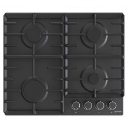 Gorenje Hob G642AB Gas, Number of burners/cooking zones 4, Mechanical, Black
