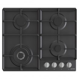 Gorenje Hob GW641EXB Gas, Number of burners/cooking zones 4, Mechanical, Black