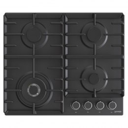 Gorenje Hob GW642AB Gas, Number of burners/cooking zones 4, Mechanical, Black