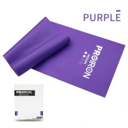 PROIRON Resistance Band Set Exercise Band, 200 x 15 x 0.45 cm, Medium (5-10 kg), 1 pc, Purple