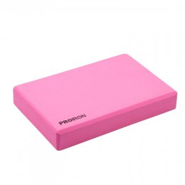 PROIRON Yoga Block Exercise Brick, 305 x 205 x 50 mm, 1 pc, Pink, High-density EVA foam
