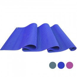 PROIRON Yoga Mat Exercise Mat, 173 cm x 61 cm x 0.35 cm, Premium carry bag included, Blue, Eco-friendly PVC