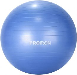 PROIRON Exercise Yoga Ball Balance Ball, Diameter: 75 cm, Thickness: 2 mm, Blue, PVC