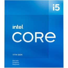 Intel i5-11400F, 2.6 GHz, LGA1200, Processor threads 12, Packing Retail, Processor cores 6, Component for Desktop