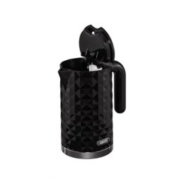 Camry CR 1269 Standard kettle, Plastic, Black, 2200 W, 360° rotational base, 1.7 L