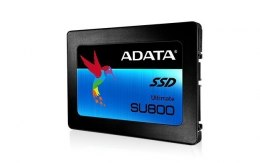 "ADATA Ultimate SU800 512 GB, SSD form factor 2.5"", SSD interface SATA, Read speed 560 MB/s, Write speed 520 MB/s"