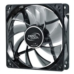 "Deepcool ""Wind Blade 120RD"", semi-transparent,, 4 red LED's deepcool 120 mm case ventilation fan,"
