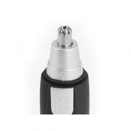 Tristar Nose and ear trimmer Warranty 24 month(s), Nose and ear trimmer, AA (not included), Black, Silver