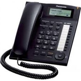 Panasonic Corded KX-TS880FXB Built-in display, Speakerphone, 550 g, 172 x 220 x 93 mm, Black, Caller ID, Phonebook capacity 50 e