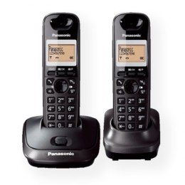 Panasonic Cordless KX-TG2512FXT Black, Caller ID, Wireless connection, Phonebook capacity 50 entries, Conference call, Built-in