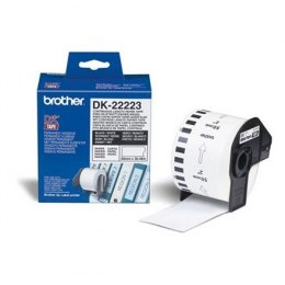 Brother DK-22223 Continuous Length Paper Label White, DK, 30.48 m, 50mm