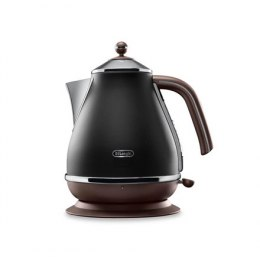 Delonghi Icona Vintage KBOV2001BK Standard kettle, Stainless steel, Black, 2000 W, 1.7 L, 360° rotational base