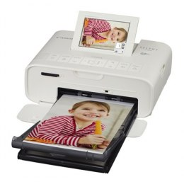 Canon CP1300 Colour, Dye-sublimation thermal transfer printing system, Selphy Photo printer, Wi-Fi, White