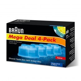 Braun Refills 4 Pack Clean and Renew CCR4 3+1