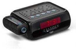 Adler Alarmclock Radio with projector AD 1120 Black, Alarm function