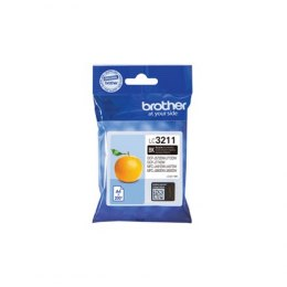Brother LC3211BK Inkjet cartridge, Black