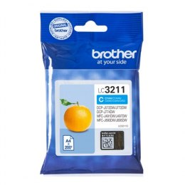 Brother LC3211C Inkjet cartridge, Cyan