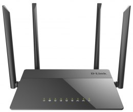 D-Link Router DIR-841 802.11ac, 300+867 Mbit/s, 10/100 Mbit/s, Ethernet LAN (RJ-45) ports 4, MU-MiMO Yes, Antenna type 4xExterna