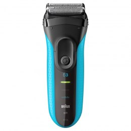 Braun Electric Shaver 3010s Charging time 1 h, Wet use, NiMH, Blue