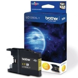 Brother LC1280XLY Ink Cartridge, Yellow