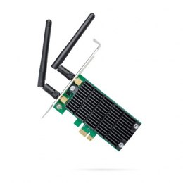 TP-LINK Archer T4E, Dual Band PCI Express Adapter 2.4GHz/5GHz, 802.11ac, 300+867 Mbps, 2xDetachable antennas
