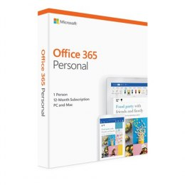 Microsoft Office 365 Personal QQ2-00788 1 person, License term 1 year(s), Estonian, Medialess P4