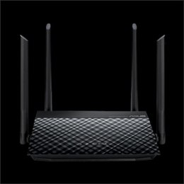 Asus High-Speed N600 WiFi Router RT-N19 802.11n, 10/100 Mbit/s, Ethernet LAN (RJ-45) ports 2, Mesh Support No, MU-MiMO No, No mo