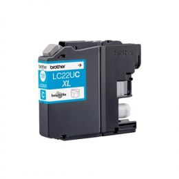 Brother LC-22UC Ink Cartridge, Cyan