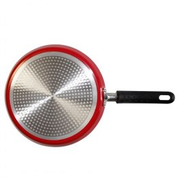 Stoneline Gourmundo pan 13691 Crepe, Diameter 24 cm, Suitable for induction hob, Fixed handle, Red