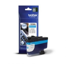 Brother High-yield Ink Cartridge LC3239XLC Ink, Cyan