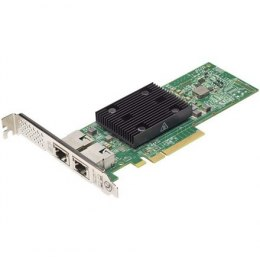 Dell Broadcom 57416 Dual Port 10Gb, Base-T, PCIe Adapter, Full Height, Customer Install