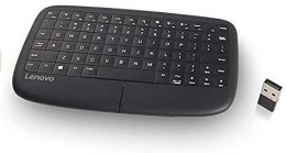 Lenovo 500 Multimedia keyboard, Keyboard layout English, 2.4 GHz Wireless via Nano USB, Black, EN, 126 g